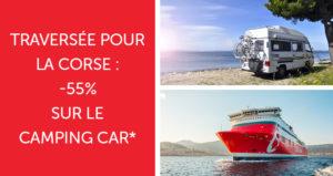 Offre camping car en Corse 2017