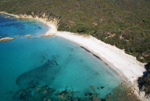 La plage de Cuppabia à Porto Pollo